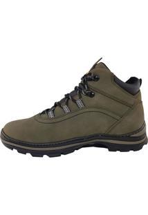 Bota Calçados Gasparini Gasparini Adventure Verde Militar