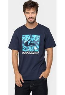 Camiseta Quiksilver Básica Ag47 Remix - Masculino