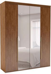 Guarda-Roupa Casal Com Espelho Originale 4 Pt 3 Gv Álamo