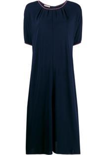 Marni Vestido De Tricô - Azul