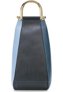 Jw Anderson Small Wedge Cross-Body Bag - Azul