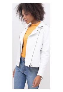 Jaqueta Perfecto Em Material Sintético