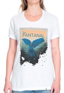 Visite Pantanal - Camiseta Basicona Unissex