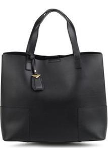 Bolsa Shopping Bag Isa Preto - Preto/Un
