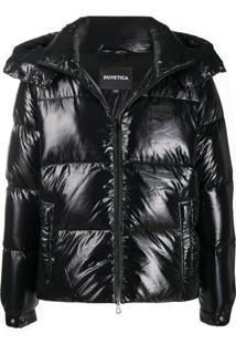 Duvetica Hooded Puffer Jacket - Preto