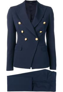 Tagliatore Navy Formal Blazer - Azul