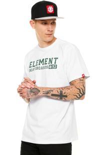 Camiseta Element Homage Branca