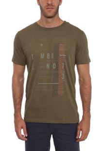 Camiseta Manga Curta Militar Future