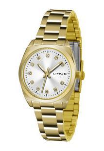 Relógio Feminino Strass Lince Lrgh035L S1Kx