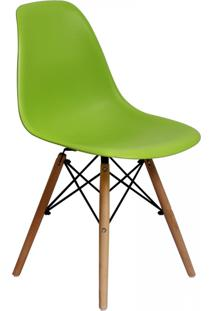 Cadeira E Banco De Jantar Impã©Rio Brazil Charles Eames Eiffel - Incolor/Verde - Dafiti