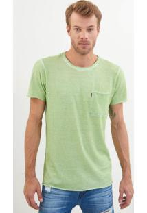 Camiseta John John Rx Minsk Light Green Malha Verde Masculina (Verde Claro, Pp)