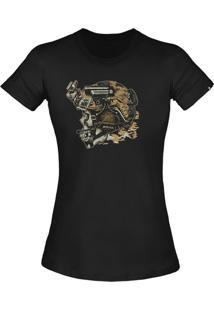 Camiseta Invictus T-Shirt Concept Blackjack Preto