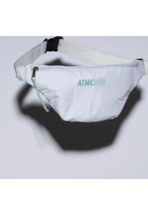 Pochete Fitness Nylon Atomic Feminina - Feminino-Branco