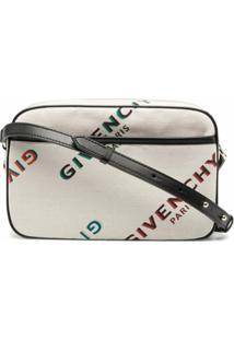 Givenchy Bolsa Transversal Com Alça De Corrente - Neutro