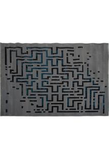 Tapete Maze - 250X350- Azul