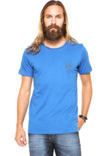 Camiseta Redley Estampada Azul