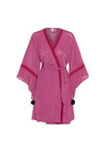 Robe Feminino Jersey Croacia - Rosa