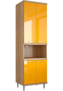 Modulo Para Forno Aldhibah Argila Texturizado Lacca Amarelo