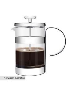 Cafeteira Francesa- Inox & Incolor- 19,3X14,3X14,3Cmtramontina