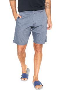 Bermuda Jeans Hurley Cos Cement Azul