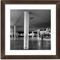 76d4f4da1 Quadro Decorativo - Série Sp - Ibirapuera - Moldura 4 Cm Com Margem De 5X5
