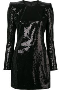 Dsquared2 Sequin Mini Dress - Preto