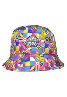 Chapéu Bucket Hats Black Bird Cl