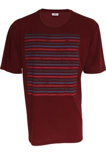 Camiseta Forum Listrada Bordô