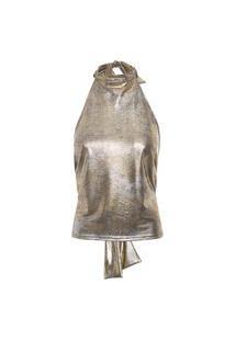 Blusa Feminina Leveza - Dourado