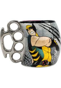 Caneca Soco Inglês Wolverine Metal Unica - Zona Criativa