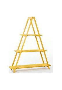 Estante Escada Troia Amarela 150Cm - 61414 Amarelo