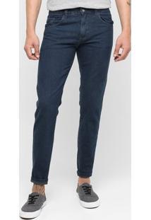 Calça Jeans Preston Tradicional - Masculino-Jeans