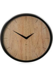 Relógio De Parede Concept 31Cm Transparente