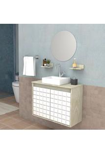 Conjunto De Banheiro Carol 2 Pt �Rtico 70 Cm
