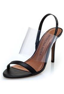 Sandalia Salto Alto Gorgurao Personalizado Branco