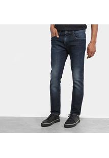 Calça Jeans Ellus Skkinny Masculina - Masculino-Azul Escuro