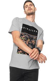 Camiseta Quiksilver Zen Division Cinza