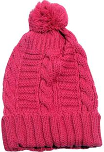 Gorro Smm Acessórios Mini Trança Rosa Pink - Kanui