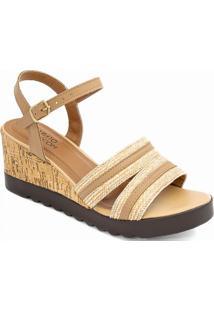 Anabela Cortiça Numeração Especial Sapato Show 15153