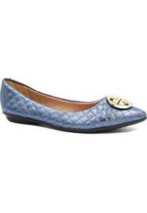 Sapatilha Zariff Shoes Matelasse Metal