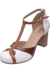 Sapato Miuzzi Estilo Boneca 3188 Branco