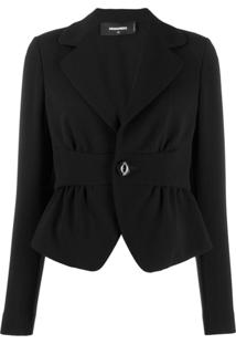 Dsquared2 Blazer Cropped - Preto