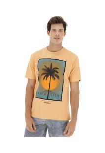 Camiseta O'Neill Estampada Sonic - Masculina - Coral