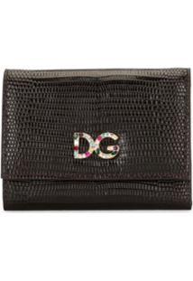 Dolce & Gabbana Carteira Com Logo - Marrom