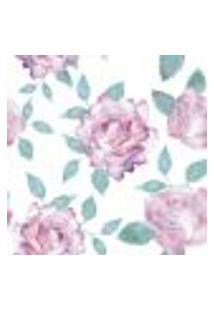 Papel De Parede Autocolante Rolo 0,58 X 3M - Flores 286287782