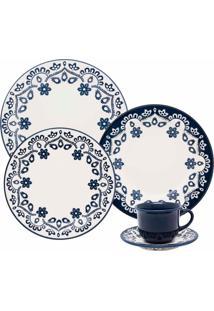 Aparelho De Jantar E Chá 30 Peças Floreal Energy