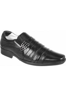 Sapato Social Confort Ranster - Masculino-Preto