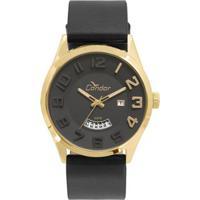 Relógio Condor Masculino Casual Couro - Co2115Kst K2P Co2115Kst K2P -  Masculino-Preto e7f4250c6c