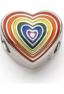 Pingente Life Rainbow Heart