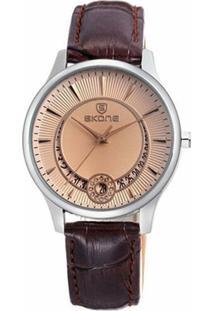 Relógio Skone Analógico 9242Bg - Feminino